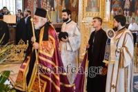 Ο Μιλήτου Απόστολος στον Ι.Ν. Προφήτου Ηλιού Πυλαίας Θεσσαλονίκης